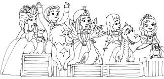 sofia coloring pages sofia coloring blue