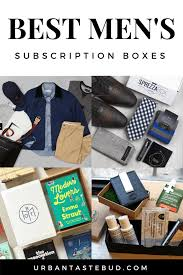 34 best subscription boxes for men urban tastebud