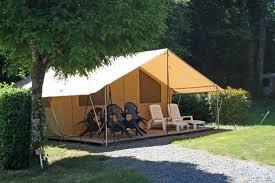 tente 2 chambres la tente meublée 2 chambres 79 bonnes vacances sas