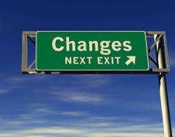 change exit sign