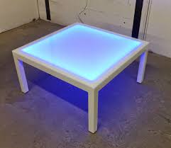 lighted coffee table coffee tables thippo