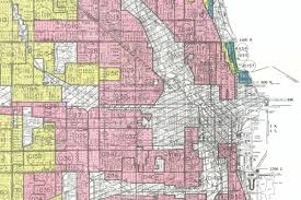 Chicago Race Map by How Redlining Segregated Chicago And America Chicago Magazine