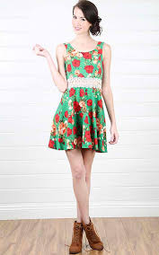 how to wear floral print dress miss sassy