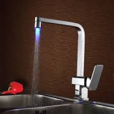 led kitchen faucets led faucets faucets with led light homary