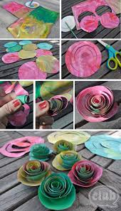 great diy on how to make your own painted roses bouquet from