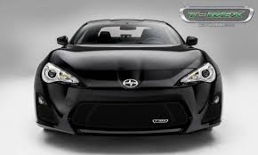 frs toyota black t rex scion frs upper class main grille overlay with black