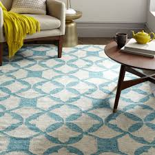 west elm rug tile wool kilim aquamarine rug from west elm homewares