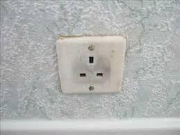 change a single plug socket to a double plug socket using a socket
