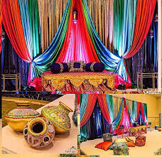 indian wedding decorators in nj sangeet inspiration for indian wedding decorations in the bay