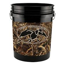 Duck Dynasty Home Decor Leaktite 5 Gal Realtree Max 5 Pattern Duck Commander Bucket