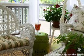 a garden seat for the porch