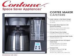 under cabinet coffee maker rv under the cabinet coffee maker under cabinet coffee maker rv