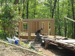 watch a two car garage building video by sheds unlimited