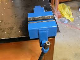 How To Build A Bench Vise How To Make A Steel Bench Vise