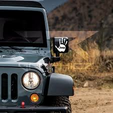 jeep wave sticker mirror jeep wave mirrors window bumper vinyl decal sticker by ztrgraphicz