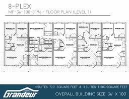 apartment plans 8 plex foximas com