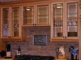 Wood Cabinet Glass Doors Nett Kitchen Cabinet Glass Doors Only Maple Wood Nutmeg Raised