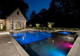 inground pool design trends water features led lights u0026 more