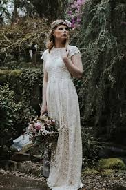 portland wedding dresses simple lace low back wedding dress dreamers and