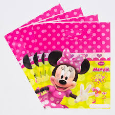 minnie mouse party supplies disney minnie mouse party bags pack of 6 only 1 25