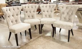 Velvet Wingback Chair Design Ideas Great Dining Room Thayer Tufted Wingback Chair Pottery Barn With