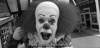 evil clown birthday animated gifs photobucket with psycho clown