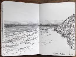 alice fox south uist beach sketch sketching pinterest alice