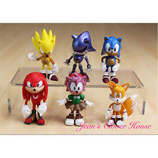 sonic the hedgehog cake topper sonic the hedgehog figure cake topper kid figurines play