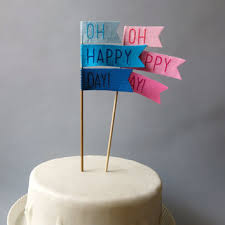 gender reveal cake topper best baby shower cake topper products on wanelo