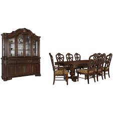 Dining Room Wood Chairs by City Furniture Regal Dark Tone Rectangular Table U0026 4 Wood Chairs