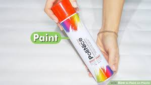 How To Paint Textured Plastic - how to paint on plastic with pictures wikihow