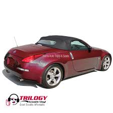 nissan convertible hardtop nissan 350z 2004 2009 convertible top with window black