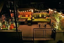 Garden Patio Lights Patio And Garden Lights Best Backyard Lighting Ideas On Patio