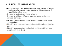chapter 6 technology digital media and curriculum integration