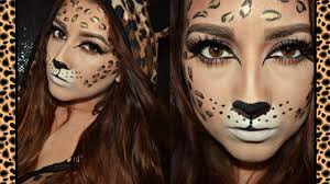 leopard halloween costume leopard halloween makeup youtube