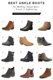 Most Comfortable Work Heels The Best Ankle Boots For Walking Travel Sightseeing Casual Wear