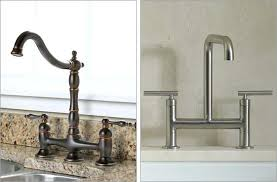 bridge style kitchen faucet bridge faucets for kitchen bridge style kitchen faucets