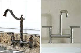 kitchen bridge faucet bridge faucets for kitchen bridge style kitchen faucets