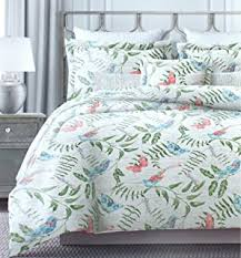 Tropical Duvet Covers Queen Amazon Com Pottery Barn Thistle Floral Print Duvet Cover Full