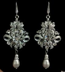 clip on chandelier earrings clip on earrings chandelier earrings pearl bridal earrings