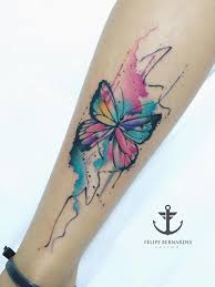 pretty watercolor butterfly watercolor tattoos pinterest