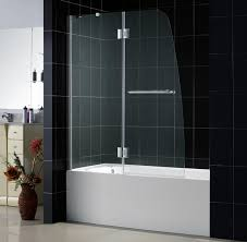 glass bath shower doors aqua lux bathtub door dreamline frameless tub door glass