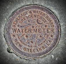 new orleans water meter cover the ubiquitous image of a new orleans water meter cover flickr