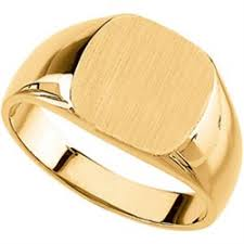 signet ring men gold signet rings 14k gold men s signet ring 12mm x 12mm jbuu9601