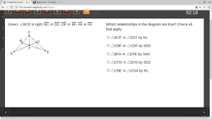 given bcd is right bc dc df bf fa fe which