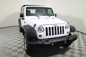jeep sahara 2016 white white jeep wrangler in west virginia for sale used cars on