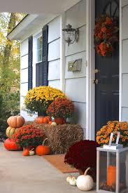 Front Porch Topiary Fall Front Porch A Homemade Living