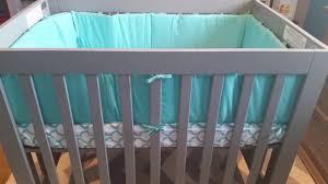 Kalani Mini Crib White Mini Cribs Bohemian Bedroom Furniture Wood Folding