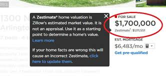 Home Appraisal Value Estimate by Zillow S Zestimates Probably Aren T The Best Way To Figure Out