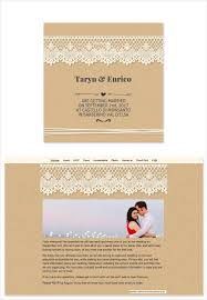 wedding programs exle wedding e invitations isura ink